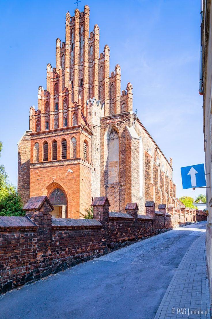XIII/XIV century St. Peter & Paul gothic post-Franciscan church in Chelmno (Culm or Kulm an der Weichsel), Poland
