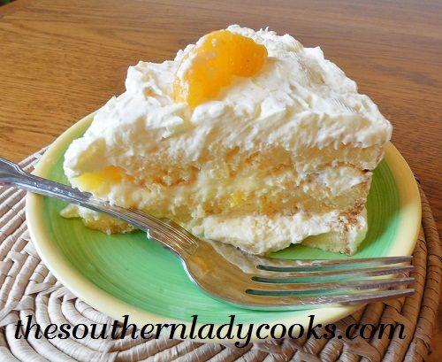 MANDARIN ORANGE CAKE / The Southern Lady Cooks