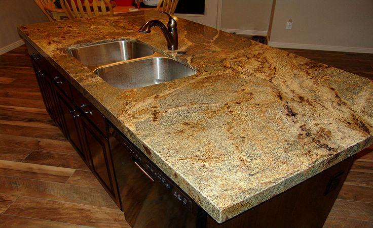 Lapidus Granite With Mitered Edge Kitchens Kitchen