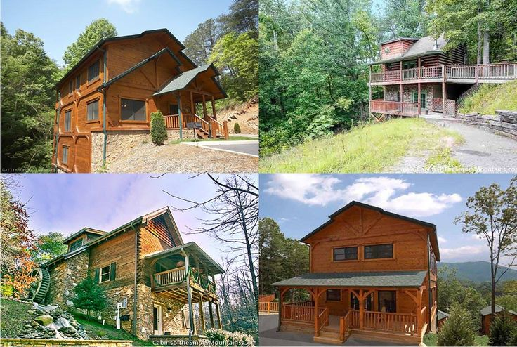 25 best gatlinburg luxury cabins images on pinterest for Smoky mountain cabins on the water