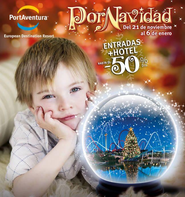 Ofertas de viajes en www.viajesviaverde.es: PortAventura Por Navidad - Entradas + Hotel hasta ...