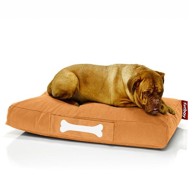 Fatboy Doggielounge Stonewashed large - orange