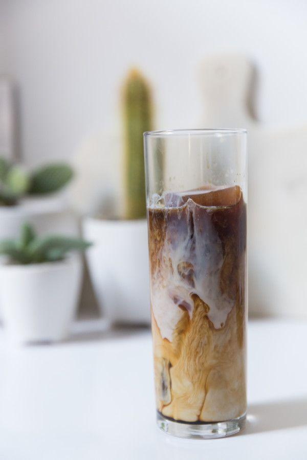 Homemade Almond Iced Coffee recipe