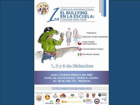 Here comes your footer Page 1. EDUCACIÓN EMOCIONAL DEL BULLYING LUIS ZAPATA…