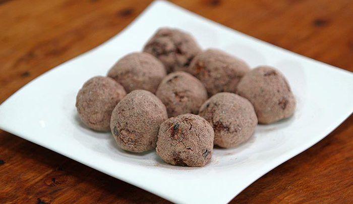 Isowhey Protein Chocolate Nut Balls