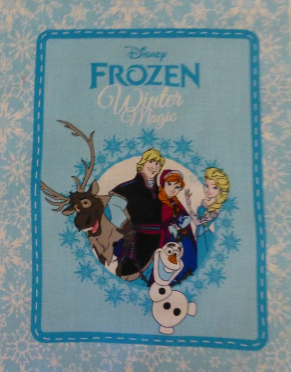 Cotton Fabric, Craft, Book Panel,  Children, Frozen Book, Disney, Springs Creative, Fast Shipping