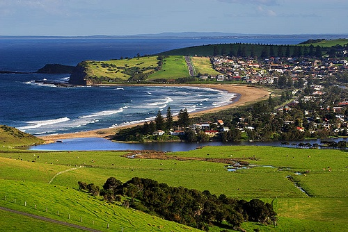 Gerringong (Werri Beach), New South Wales  We take the kids for a swim and play at this beautiful place on our drive down to Bateman's Bay to visit family.