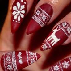 nägel zu weihnachten