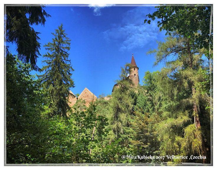 #castle #history #heritage #architecture #art #velhartice #hrad #trip #travel #2017 #česko #ceskarepublika #czechrepublic #czech #czechia #cesko #photos #photo #photography #today #myphoto #forest #trees
