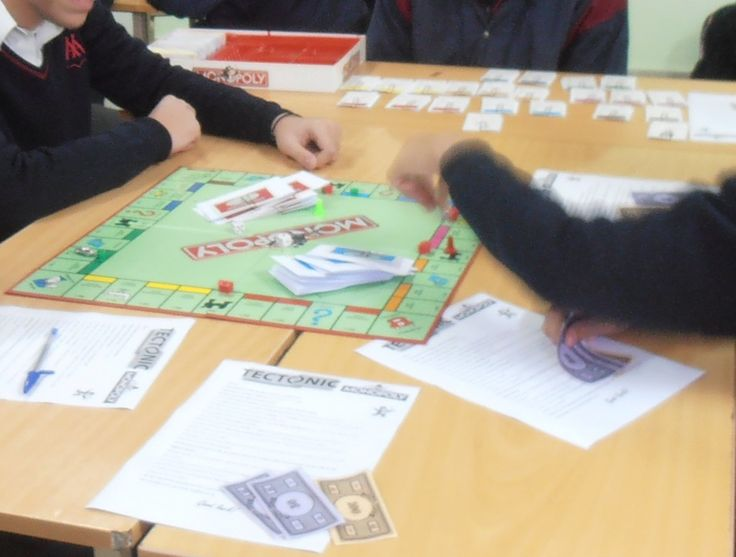 Revision Game: Tectonic Monopoly