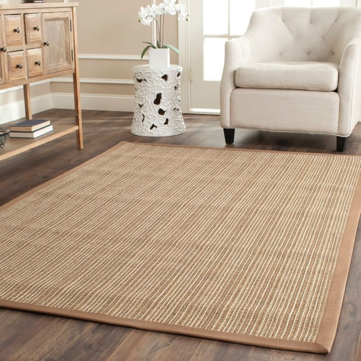 Safavieh Dream Natural Fiber Beige Sisal Rug 8 Square At 0153 Y