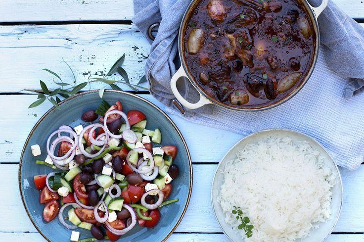Stifado – gresk kjøttgryte!
