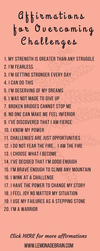 Best Affirmations For Teens  Students Images On