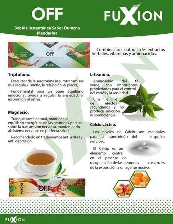 Regula tu sueño y relájate con #off de #FuXion Más Info: www.bebidasfuxion.es / info@bebidasfuxion.es / Fuxion España