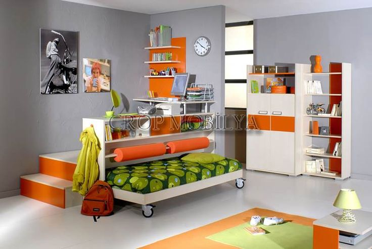 Turuncu Çocuk Odaları