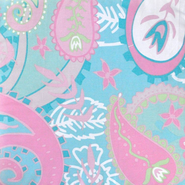 With the pixie baby aqua paisley fabric creating cute for Cute baby fabric