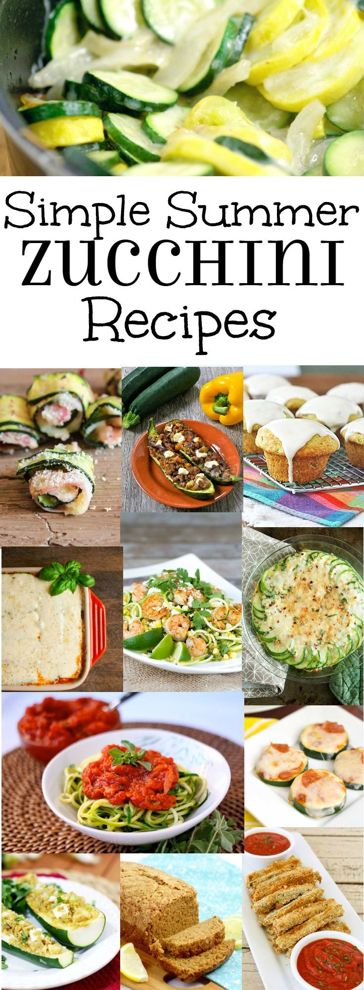 ... Zucchini Recipes on Pinterest | Zucchini, Zucchini Casserole and