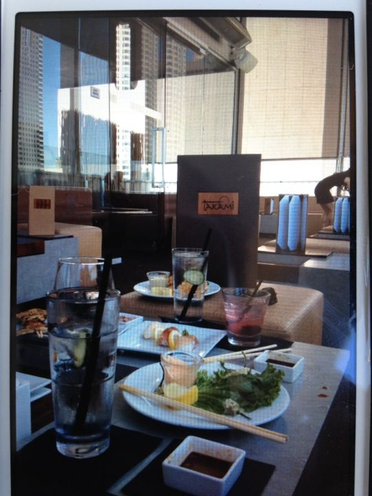Takami Sushi in Los Angeles, CA. Sushi with a view