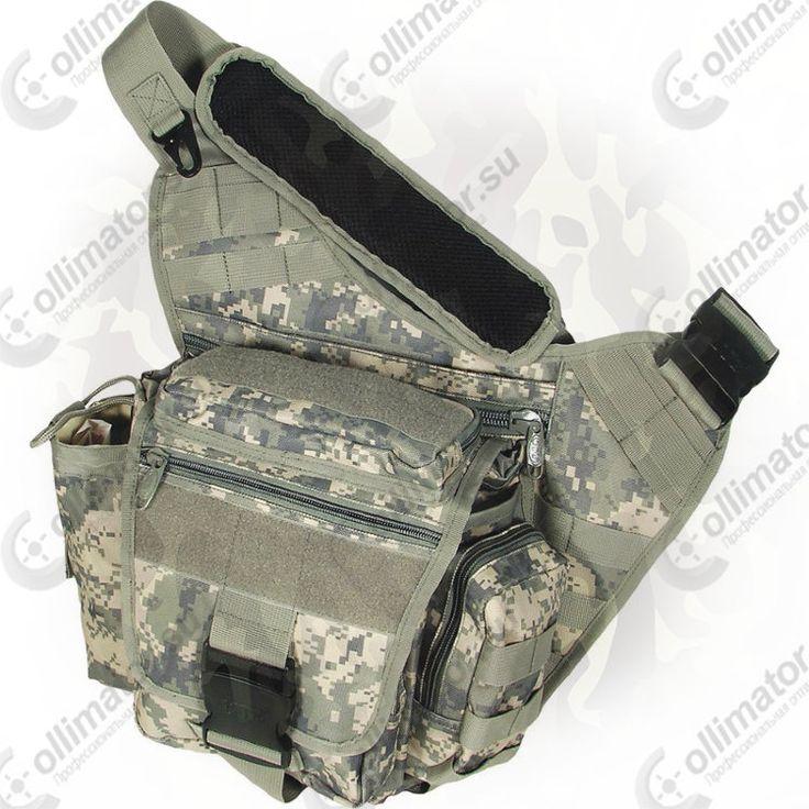Тактическая сумка на плечо Leapers PVC-P218R (камуфляжная)