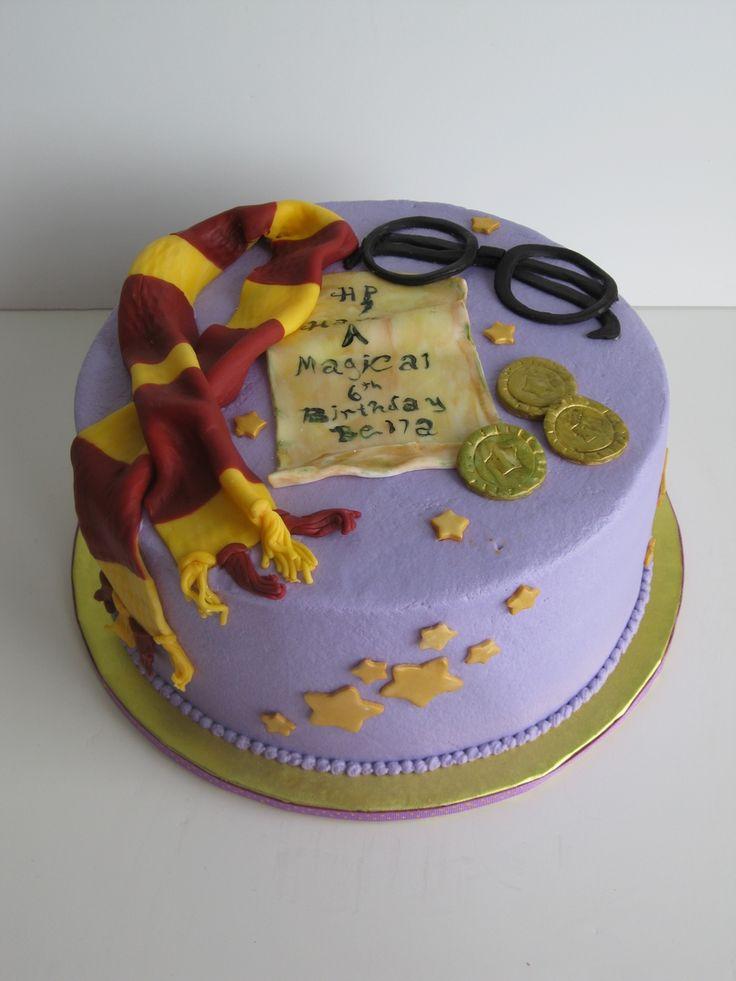 """Harry Potter"" birthday cake on Cake Central"