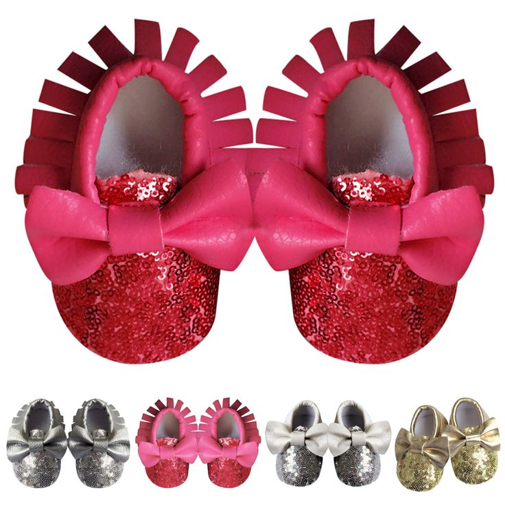 >> Click to Buy << Baby Shoes PU Leather Fringe Crib Soft Soled Sequin Drcoration Baby Birthday Party First Walkers 3 to 18 Months  #Affiliate