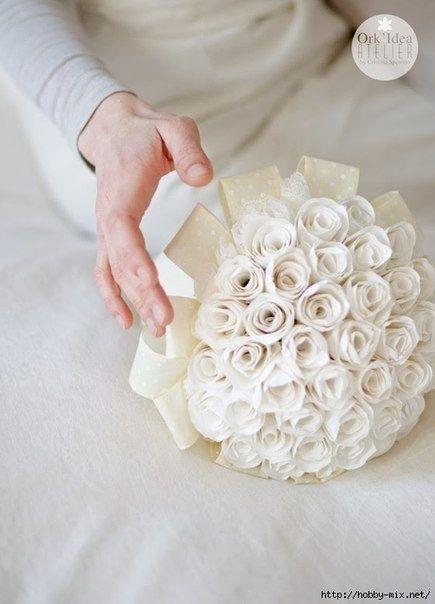 Потрясающие цветы из бумаги