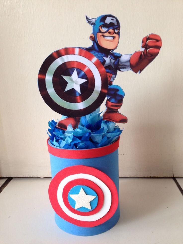 My idea for Captain  America Centerpiece