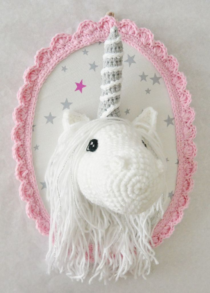 1000 id es sur le th me licorne en crochet sur pinterest for Decoration maison licorne