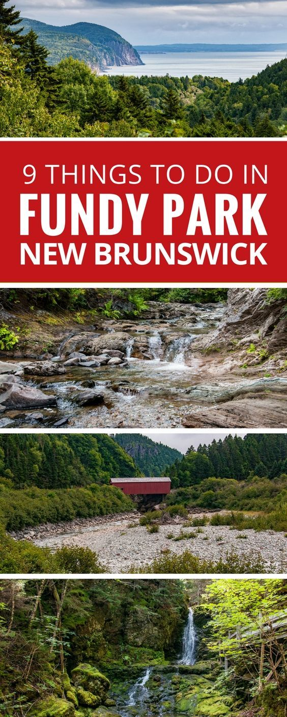 From dramatic coastlines to epic hikes, stunning waterfalls, and even covered bridges, Fundy National Park highlights the best sights New Brunswick, Canada has to offer. Travel New Brunswick