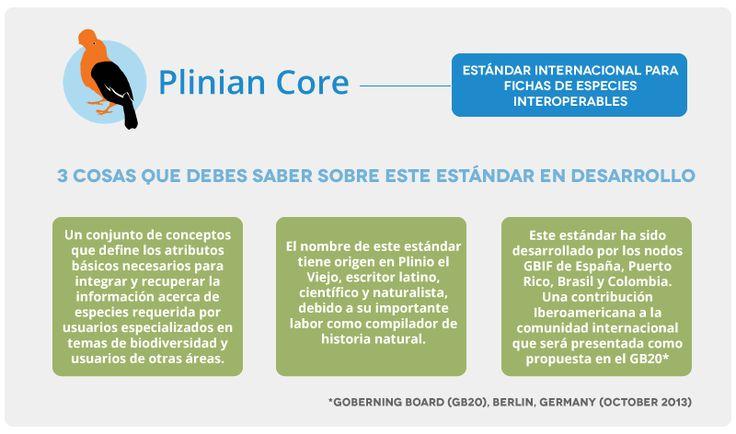 Sobre el estándar Plinian Core
