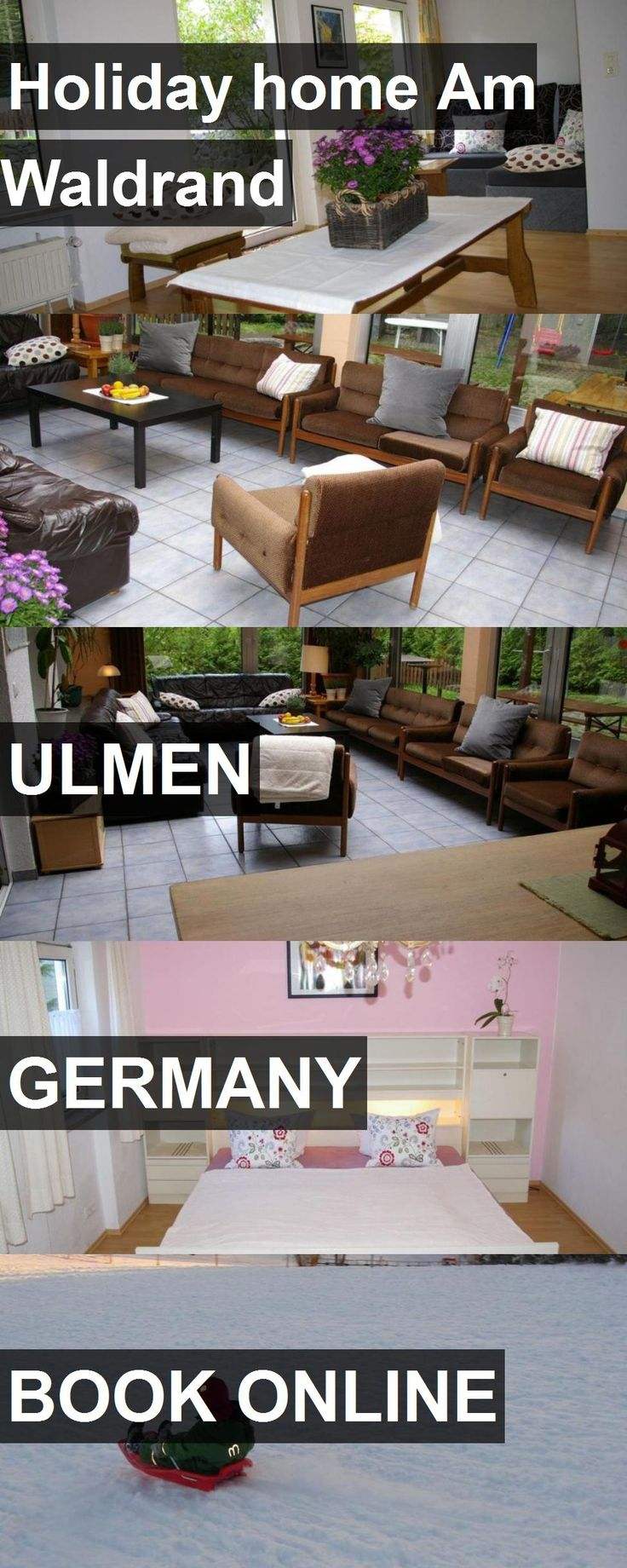 Hotel Holiday home Am Waldrand in Ulmen, Germany. For more information, photos, reviews and best prices please follow the link. #Germany #Ulmen #travel #vacation #hotel