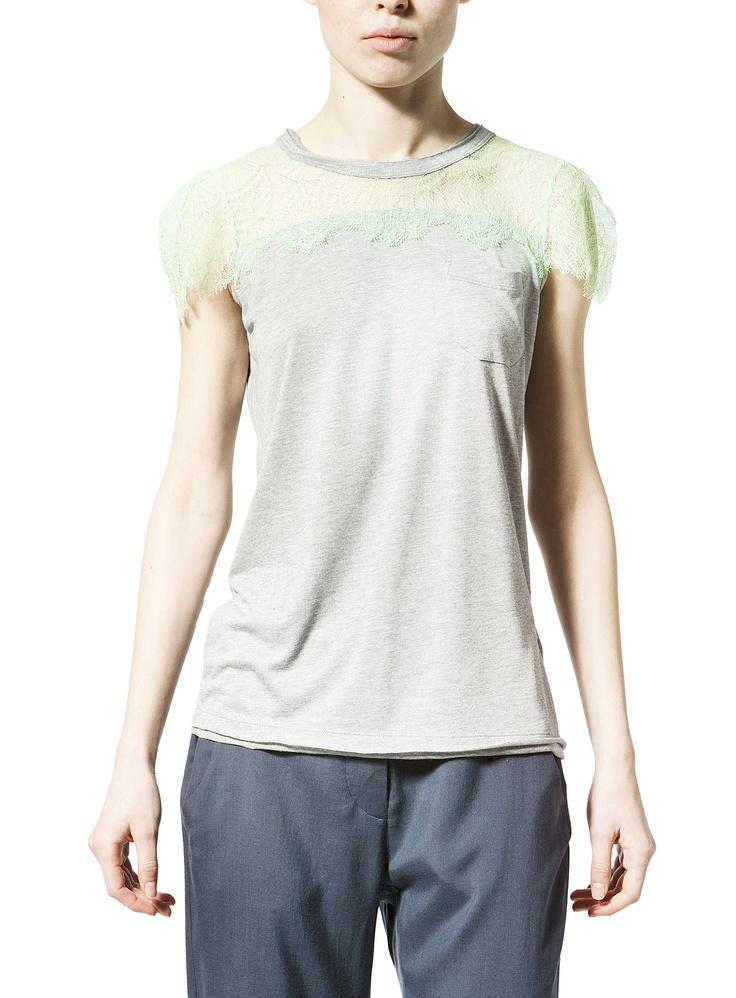 Suite123 | T-shirt fascia pizzo