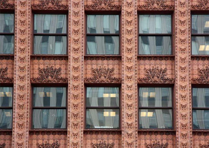 Image result for ornamental facades architecture louis sullivan