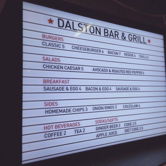 Diner lightbox by Goodwin & Goodwin #lightbox #diner #menu #cafes  #restaurants