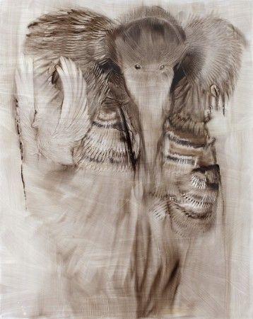 Fear of Solitude Hannaleena Heiska 2012, oil on mdf board 152 x 122 cm