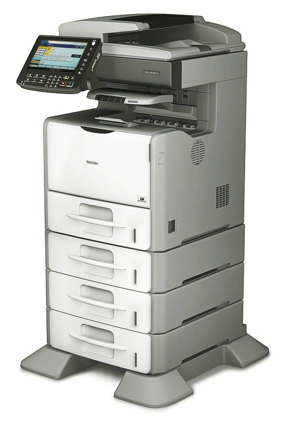 Ricoh Aficio Sp 5200s Black And White Copier Printer Ricoh Multifunction Printer Printer Black And White Printer