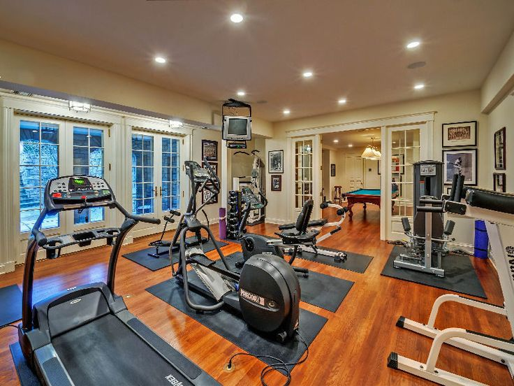 A Seven Bedroom, Three Acre Sagaponack Estate For $19.5M. Gym HouseGym  RoomExercise RoomsGym DesignWine RoomsHome Gyms3 YearsNatural LightBasement  Ideas