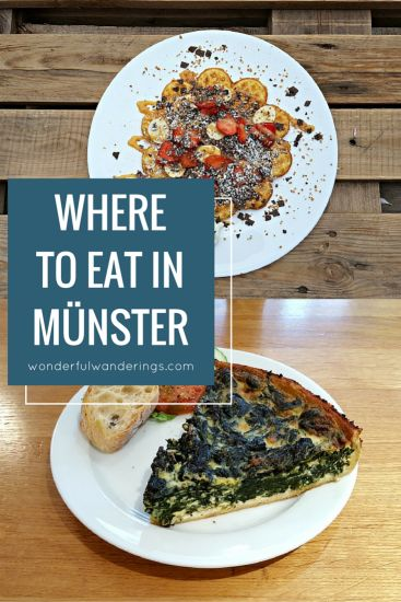 Epic  fun restaurants in M nster Germany that ull make you crave for more