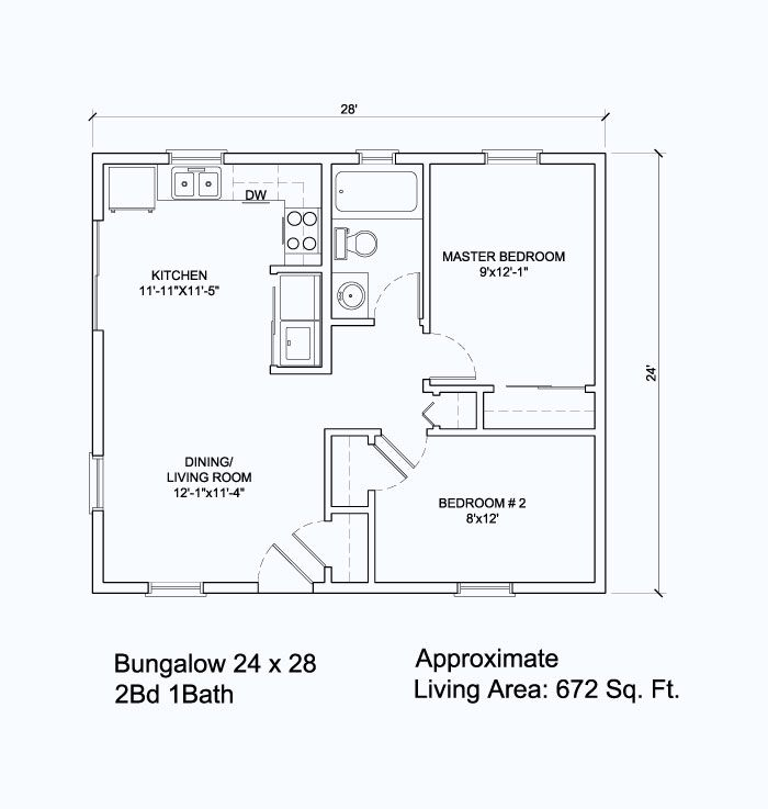 Google image result for for 24 x 24 apartment layout