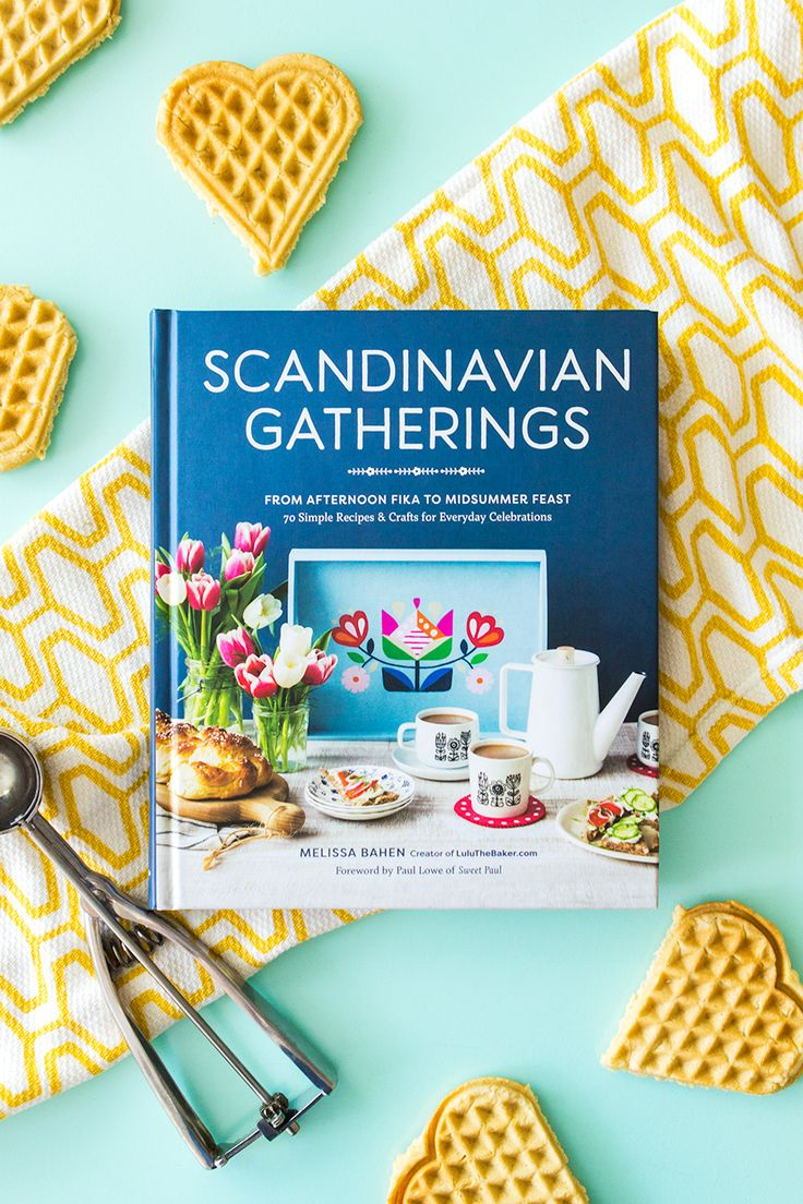 Loving Scandinavian Gatherings, the new recipe and DIY book by blogger Lulu the Baker