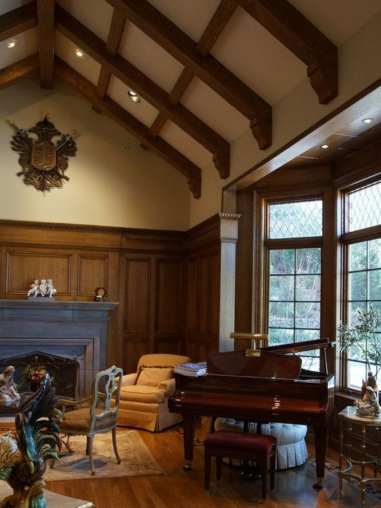 Hillsborough Interiors For An English Tudor Home Traditional Living Room
