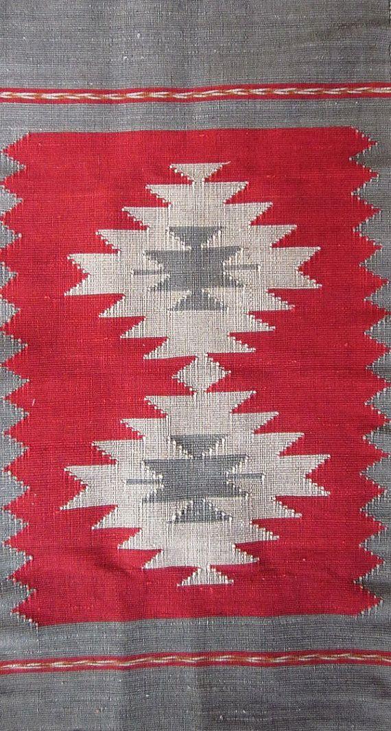 Cotton rug quilt Nan design from North Thailand