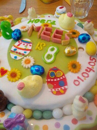 Mees 8! Easter cake / paas taart