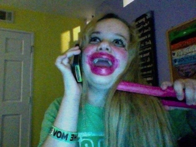 Talking on the phone and putting makeup on and straightening your hair when you're trying to get ready to go to the mall. | 28 Things Only Teenage White Girls Will Understand
