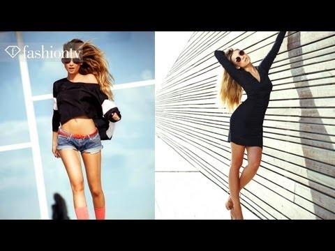 Photo Shoot ft Model Paulina by Shai Yehezkel for Status Fall 2012 Tel Aviv - Pt 2