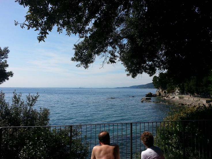 Castle Miramare, Trieste, Italy, last but not least of the sea views from this great castle.