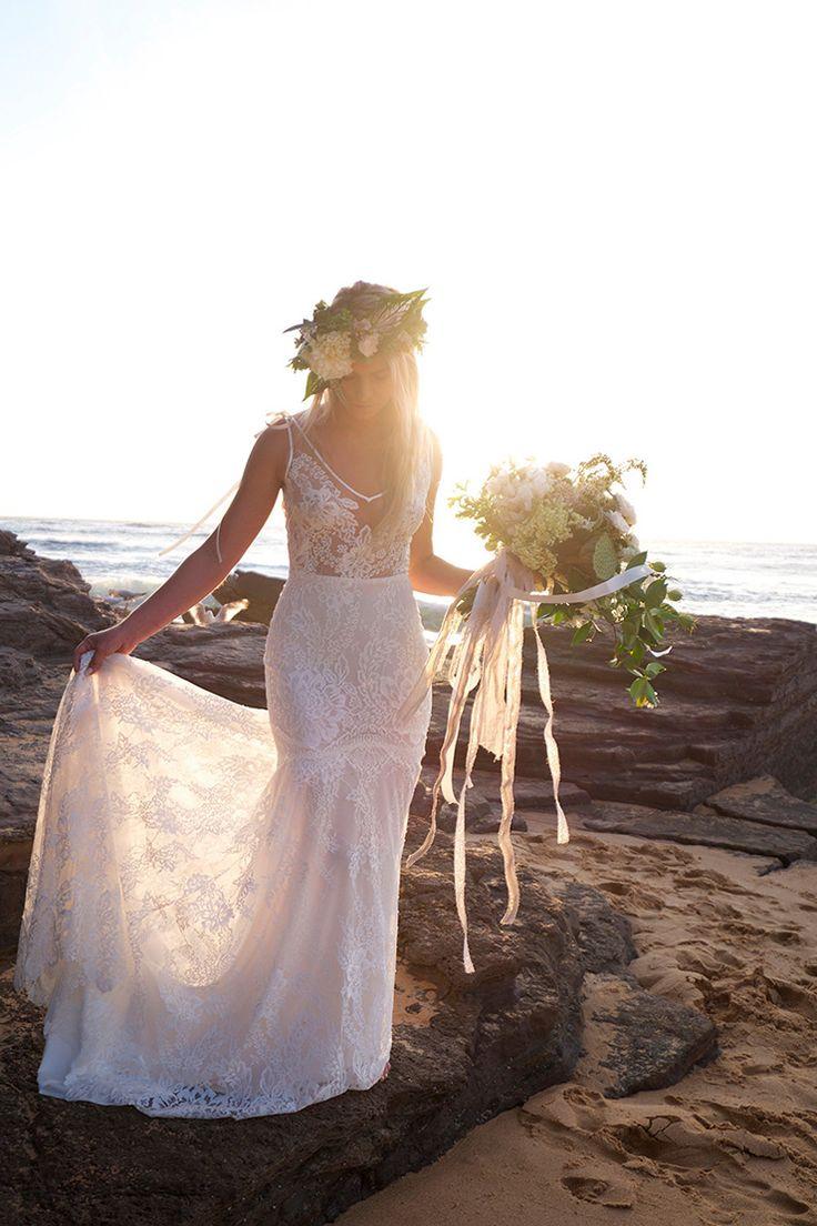 famous etsy bohemian wedding dress elaboration colorful wedding