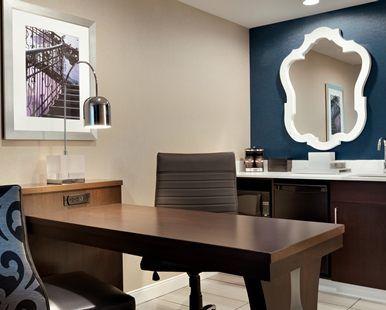 Embassy Suites by Hilton Atlanta NE Gwinnett Sugarloaf Hotel, GA - Suite Dining Table and Wet Bar | GA 30097
