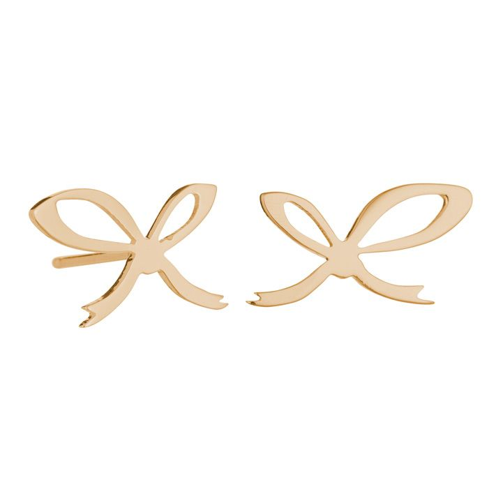 A Knot To Help You Remember Earrings - Rose Gold - £125