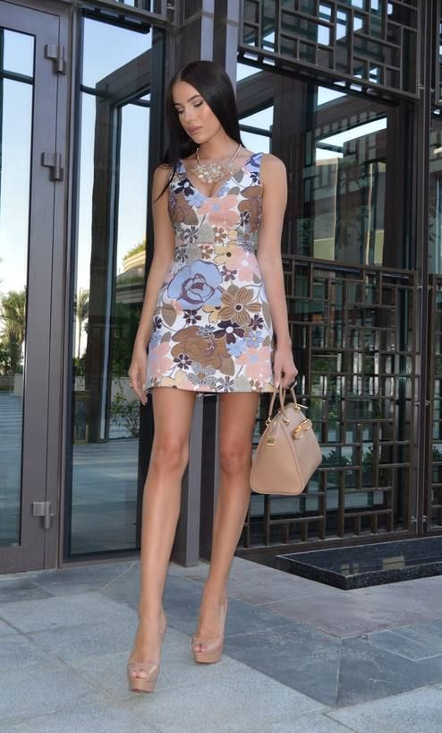 Little Floral Dress Chic Style